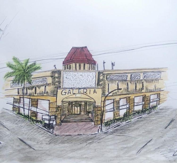 Sketsa Galeria Mall Jogja, sumber ig @kptno