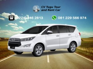 Rental Mobil Jogja 2018 Terbaru CV Tugu Tour & Rent Car - Toyota Innova Putih