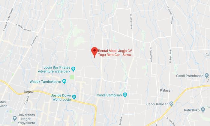 alamat rental mobil jogja, sewa mobil murah di Yogyakarta cv tugu rent car Jogja