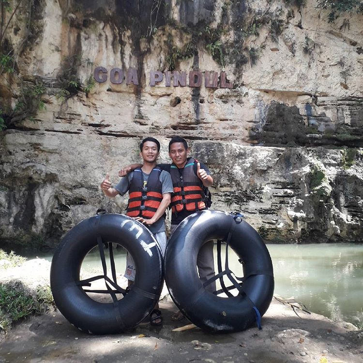 Goa Pindul di Gunung Kidul Yogyakarta, sumber ig goapindulwisata