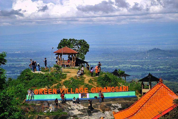Green Village Gedangsari Gunung Kidul, sumber ig @irhazzamil