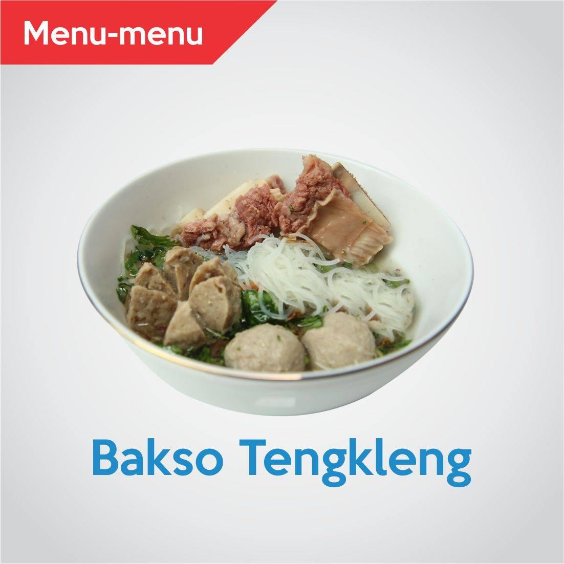 Nikmati Bakso Rasa Daging di Gerai Bakso Tengkleng Mas Bambang Yogyakarta