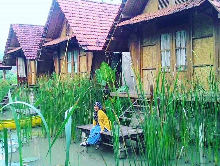 Rumah yang seperti di desa, di desa wisata boro, sumber ig @arum_puspitaningtyas