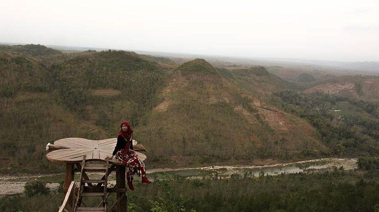 Menikmati Keindahan Alam di Bukit Panguk Kediwung yang Lagi Hits
