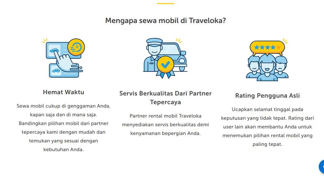 Hal Alasan Rental Mobil di Traveloka